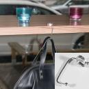 Handtaschenhalter, Taschenhaken aus Silber