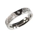 Verlobungsring aus Weissgold gefasst mit einem Australischen Diamanten
