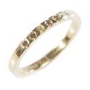 Verlobungsring aus Gelbgold gefasst mit Australischen Diamanten
