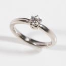 Verlobungsring in Weißgold mit Australischen Diamant