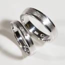 Verlobungsringe in Weißgold mit zwei Australischen Diamanten
