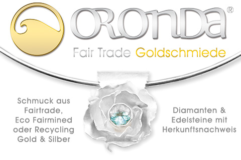 ORONDA Fair Trade Goldschmiede